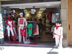 Tienda con ropa de San Fermín Pamplona, Dresses, Fashion, Santa Dress, Store, Vestidos, Moda, Fashion Styles, Dress