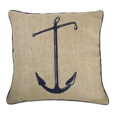 Anchor in Jute 18""