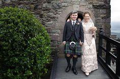 A Valentino Wedding Dress For An Elegant Edinburgh Bride