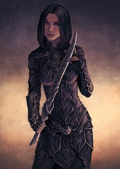 they wore armour made completely of dragon steel/dragon hide. it was layered and folded, draped over the soldier's bodies like silk...
