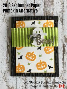 September Paper Pumpkin Alternative - I Love to Stamp Up Halloween, Halloween Cards, Halloween Themes, Fall Cards, Holiday Cards, Stampin Up Paper Pumpkin, Pumpkin Cards, Thanksgiving Cards, Stamping Up