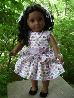 American Girl Doll Clothes Custom Couture Symphony by gofancynancy, $29.99