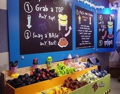 Build-A-Cup Station at Goofy Candy Co. (also at Club Cool in Epcot)