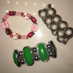 Bracelet Bundle! Used. But in good condition! Variety Jewelry Bracelets