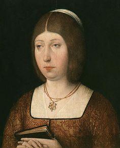 Isabel I de Castilla fue reina de Castilla desde 1474 hasta 1504, reina consorte de Sicilia desde 1469 y de Aragón desde 1479,2 por su matrimonio con Fernando de Aragón. Es conocida como Isabel la Católica, título que les otorgó a ella y a su marido el papa Alejandro VI mediante la bula Si convenit, el 19 de diciembre de 1496.
