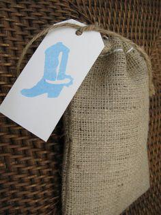 Square Dance or Barn Wedding Treat Bag!