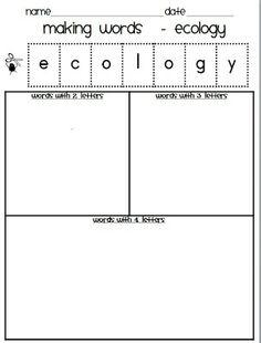 Classroom Freebies: Earth Day Freebie!