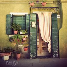 """""""Little Green House In Burano"""" photography"""