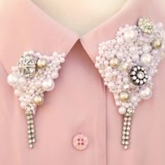 not quite my taste, but easy to fix that.  I would love to find a way that they could be pinned on or somehow transferrable to other garments