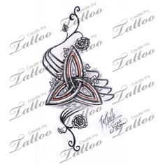 Triquetra Tattoos Trinity Knot Celtic Symbol Meanings Difficult Figure
