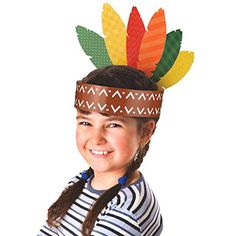 cf7aac0ce06 Amscan Thanksgiving Make Your Own Headband Craft Projects For Kids