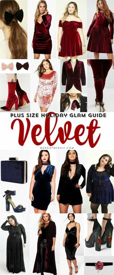 Plus Size Holiday Glam Guide: Velvet + Black Friday codes!!