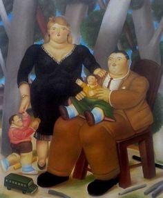 Fernando Botero - Grupo de Familia | WideWalls