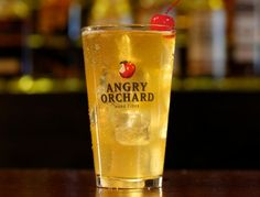 ANGRY CUBAN // INGREDIENTS // 1.5oz White Rum // 3oz Pineapple Juice // Angry Orchard Crisp Apple // METHOD // In a pint glass combine over ice, 1.5oz white rum, 3oz pineapple juice, and top with Angry Orchard Crisp Apple