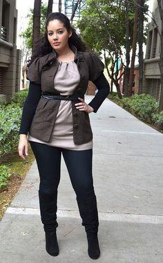 tanesha awashi, curvy blogger