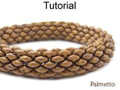 Beading Tutorials and Patterns Super Duo Beads Tubular