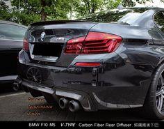 BMW F10 M5 V-TPER Carbon Fiber Rear Diffuser 碳纖維後下巴 by rennevo888