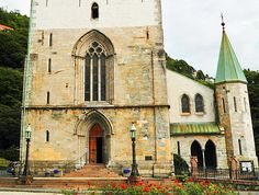 Bergen Cathedral.  The earliest recorded reference to Bergen's splendid cathedral dates back to 1181, when it began life as a monastic church. It was while being rebuilt after fires in 1623 and 1640 that the cathedral received its present façade, while architect Christian Christie added its Rococo interior during renovations in the 1880s. Address: Domkirkeplassen 1, 5003 Bergen