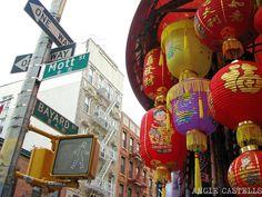 gua con las calles tiendas y lugares ms especiales del barrio de chinatown en