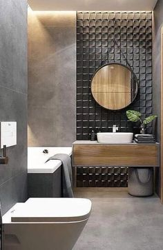 latest stylish bathroom Decoration and Design trends for 2019 Part ; Bathroom Decor Sets, Bathroom Tile Designs, Bathroom Design Small, Bathroom Styling, Bathroom Interior Design, Bathroom Ideas, Bathroom Organization, Bathroom Storage, Toilet Tiles Design