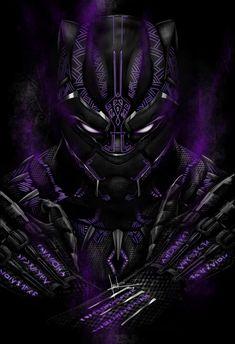 Black Panther fan art, Emmanuel Andrade