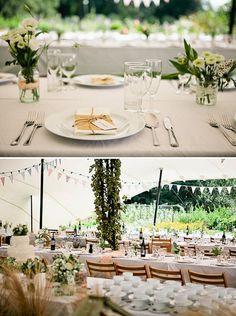 A Fresh Humanist Yellow Garden Wedding
