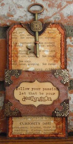 Terry's: It's All About Words at Frilly and Funkie! I love the grunge look as well as the message!!