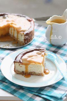 Cheesecake Vanille et Caramel beurre salé