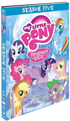 Equestria Daily: Season 5 My Little Pony DVD Releasing July 12th