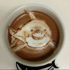 Shark coffee. Epic!                                                                                                                                                                                 More