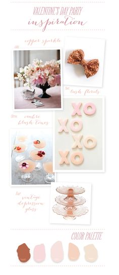 Inspiration for a pink & fabulous Valentine's Day Party!     http://www.stylemepretty.com/2013/02/03/smp-at-home-inspiration-for-a-valentines-craft-party/