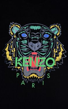 BLACK 'Holiday Capsule Collection' Tiger T-shirt for women KENZO - - Best of Wallpapers for Andriod and ios Gucci Wallpaper Iphone, Paris Wallpaper, Iphone 7 Wallpapers, Phone Screen Wallpaper, Nike Wallpaper, Nature Wallpaper, Mobile Wallpaper, Tiger T-shirt, Apple Watch Wallpaper