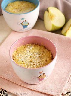 Torta di mele in tazza i 5 minuti - Dulcisss in forno by Leyla