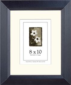 Find these USA-Made Black Picture Frames here - http://www.frameusa.com/wood-frames/black-picture-frames