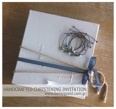 Sifnos island   handcrafted   wedding & christening invitation   white & blue   aegean inspirations   www.bemyguest.com.gr