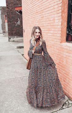 95a4d518ed12 Trend Fashion 2019  Winter Maxi Dress
