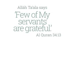 Be among thoes few and be thankful Alhamdulillah, Hadith, Allah Quotes, Hindi Quotes, Islam Online, Noble Quran, All About Islam, Names Of God, Islam Muslim