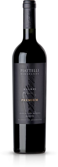 Piatelli Premium Malbec from Mendoza, Argentina. Deep berry and oak flavor.