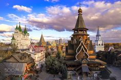 Popular on 500px : Kremlin in Izmailovo and Izmailovo Vernissage by GleBB