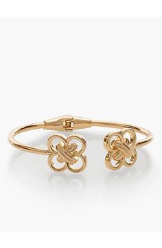 Double-Knotted O-Ring Cuff - Talbots