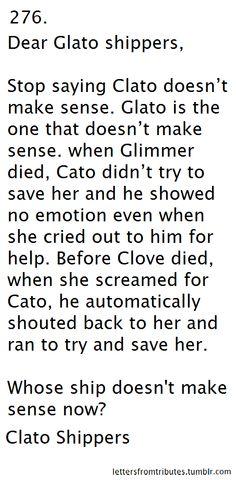 Nowww someone finally makes sense of all this Clato and Glato stuff!! Speak it sista!! CLATO ALL THE WAY!!!!!