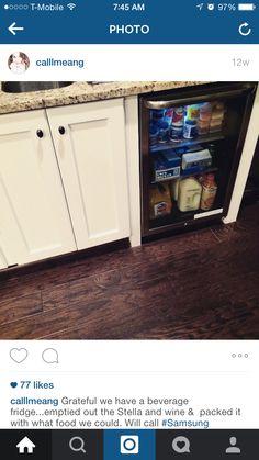 Small bev fridge