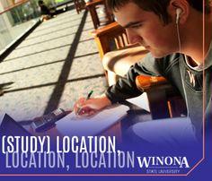 Study location matters! | Winona State University