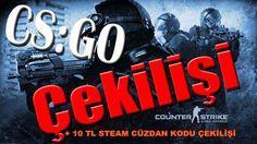 Çekiliş #1   CS:GO Ve Steam Cüzdan Kodu Çekilişi