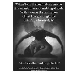 Twin Flames Then they find one another it is an instantaneous melding.... Twin Flame course #twinflames #love