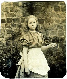 alice in wonderland  c. 1905, UK  Via unexpectedtales' Flickr