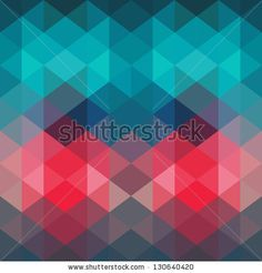 Spectrum geometric background made of triangles. Retro hipster color spectrum grunge background. Square composition with geometric color flow effect. Color wheel by Markovka, via ShutterStock