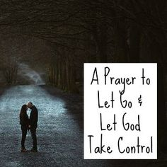 how to let god take control