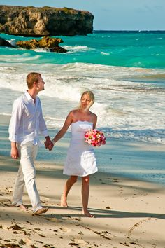 Intimate Weddings in Barbados by the sea