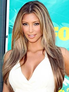 If i ever went light with my hair this is prolly what i would do! :)
